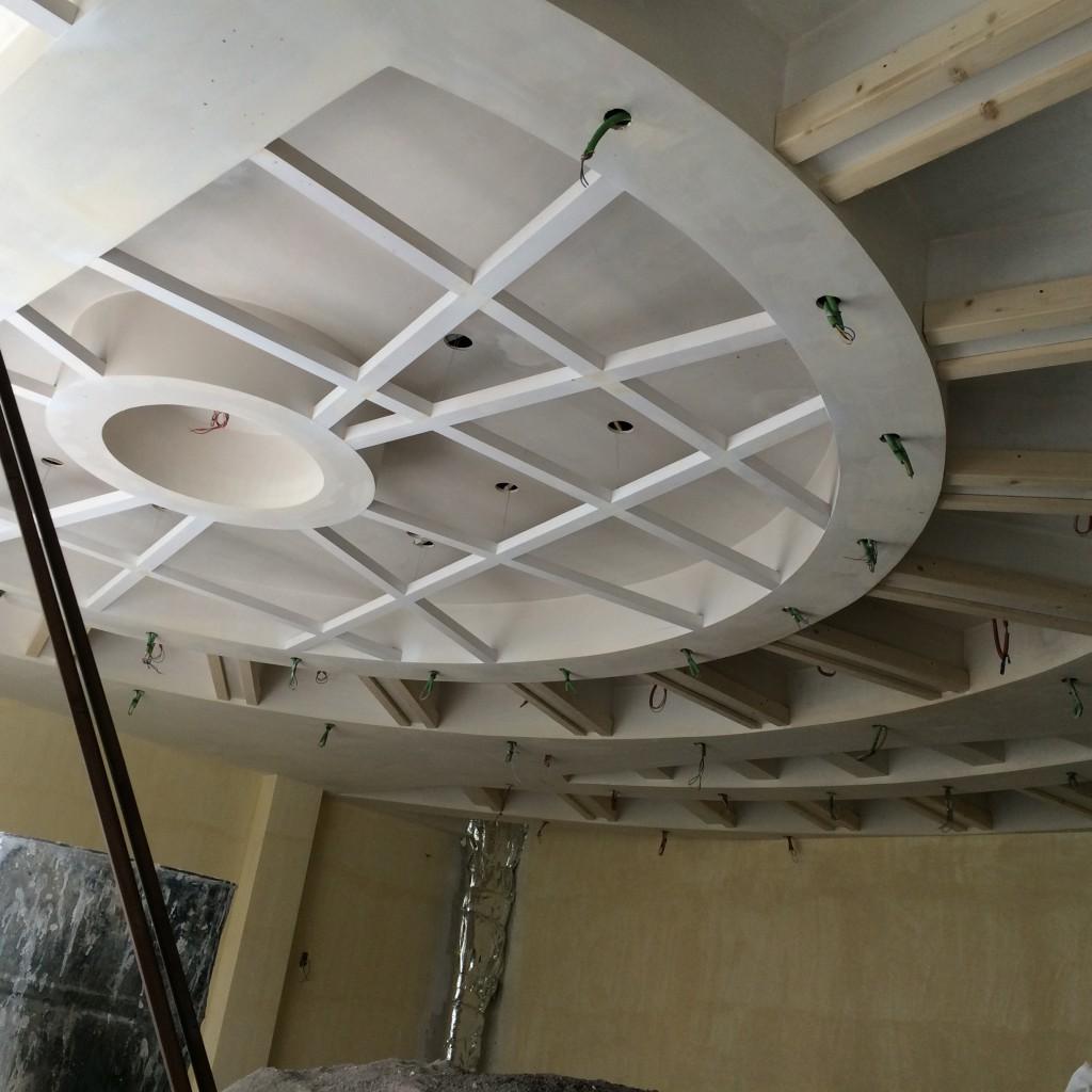 نمایش سازه  طراح مشاور و مجری سازه های کناف ، دیوار کاذب و سقف کاذب